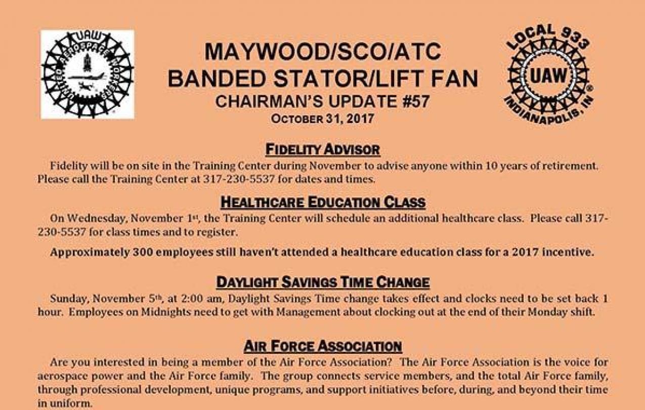 Maywood Update #57