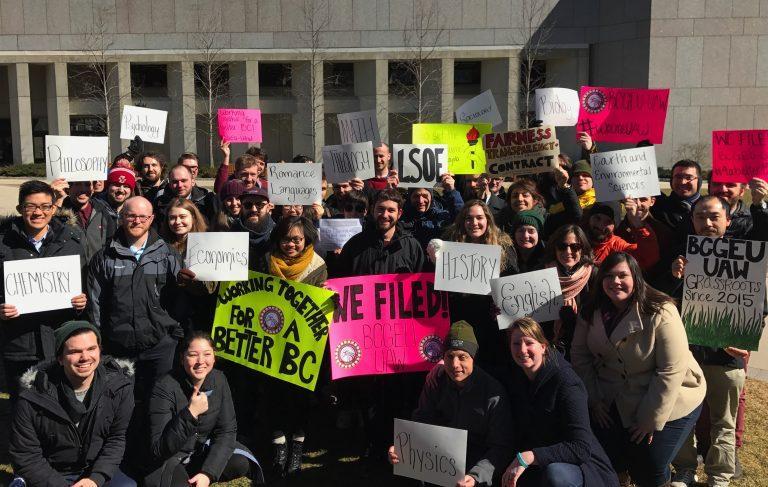 Boston College Grad Workers