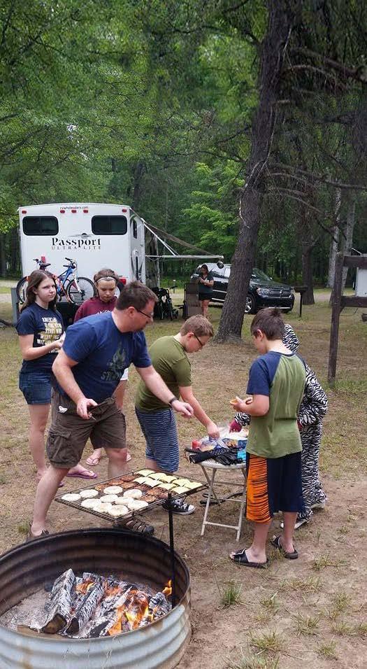 Camping at UAW Black Lake